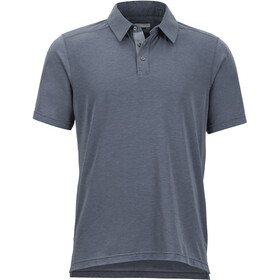 Marmot M's Wallace SS Polo Shirt Steel Onyx Heather